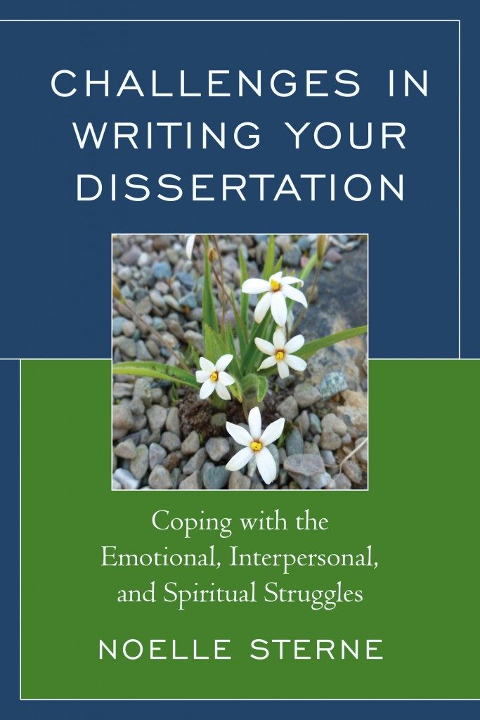 Challenges in Writing Your Dissertation Cover, N. Sterne